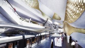 arquitectura-metro Rey Abdullah Financial District de Zaha Hadid