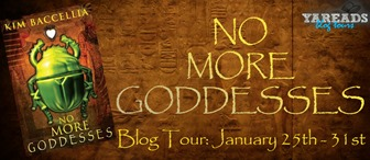 {Review+Giveaway} No More Goddesses by Kim Baccellia