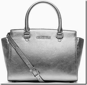 Michael Michael Kors Silver Selma Bag