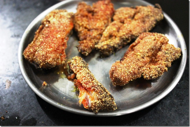 Bombay duck fry