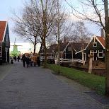 the zaanse schans in zaandam in Zaandam, Noord Holland, Netherlands