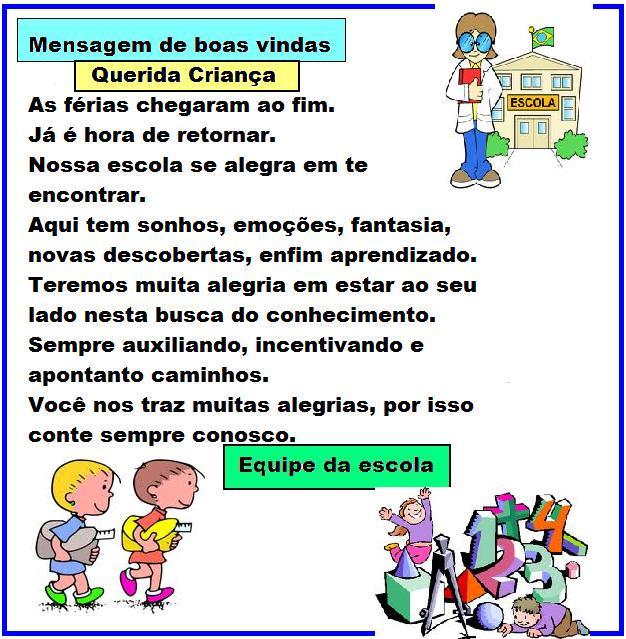 Tag Frases De Ferias Para Educação Infantil