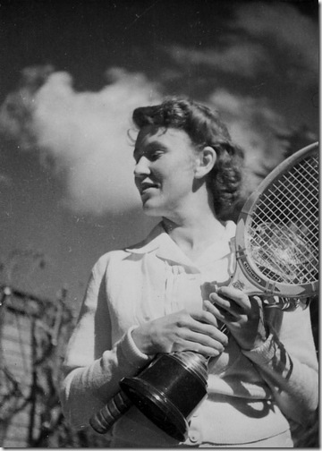 Kathleen tennis champion