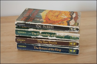 tolkien books