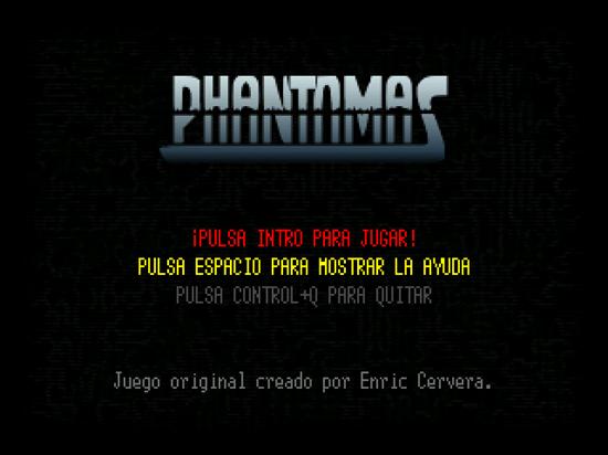 phantomas inicio