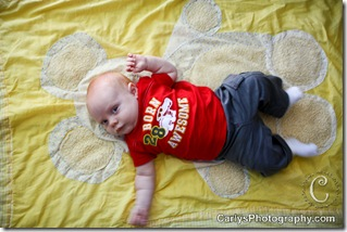 August 11, 2011-Kyton 2 month - pic a day