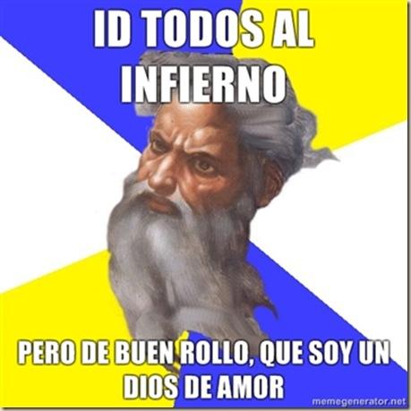 infierno ateismo humor grafico dios biblia jesus religion desmotivaciones memes (21)