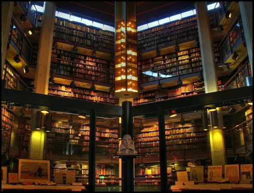Thomas Fisher Rare Book Library at University of Toronto, Canada 01