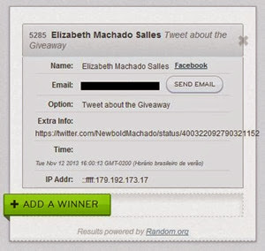 Ganhadora Elizabeth