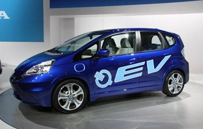 Honda-Fit-EV-Blue