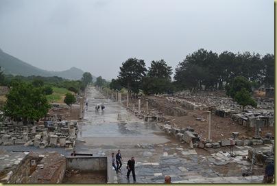 Ephesus Marble Street near theatre