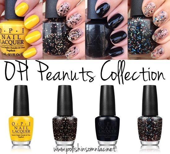 OPI Peanuts Collection - Halloween 2014