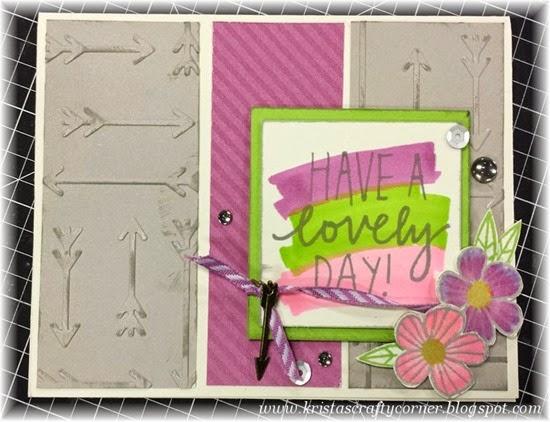 Lovely Birthday card