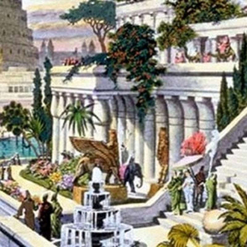 Certificado antigo revela localização do lendário Jardins Suspensos da Babilônia