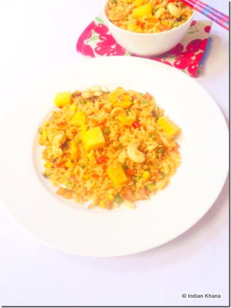 Easy Thai pineapple fried rice recipe