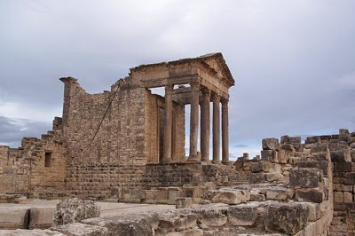 Tunisia Temple of Jupiter at Dougga