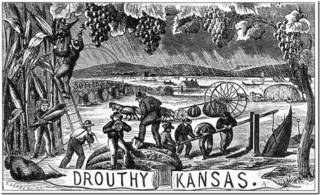 henry worrall - drouthy kansas 1869