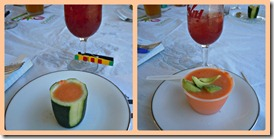 gazpacho and sangria