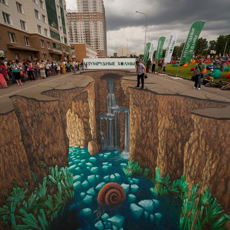 Amazing 3D Street Art Illusions by Edgar Mueller