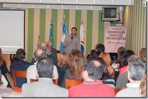 Juan Pablo de Jesús expuso en el Encuentro de concejales de la región