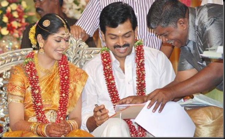 Karthi ranjini marriage stills1
