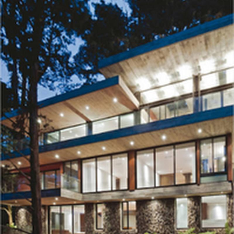 Una casa espectacular que se combina con la naturaleza