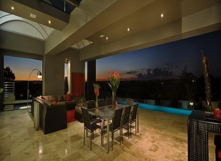 Casa de lujo contempor nea joc blue hills combina - Casas de lujo por dentro y por fuera ...
