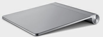 Apple Magic Trackpad Aluminium Glas