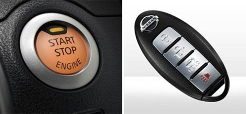 almera intelligent key and start stop button