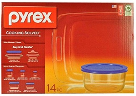 Pyrex 14 piece set