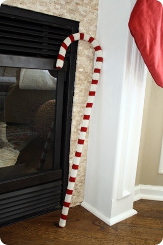 knit candy cane
