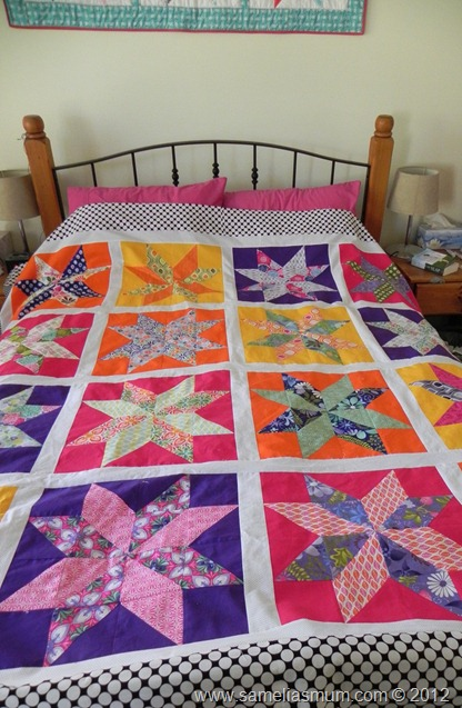 Starflower Quilt 4
