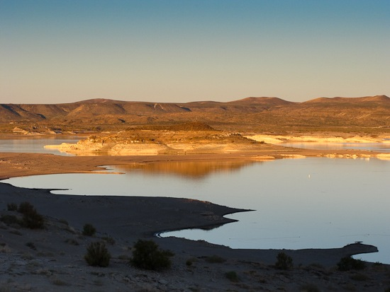 Elephant Butte Lake State Park Evening