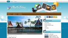 Phototravelblog blogger template 225x128