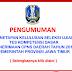 Penetapan Kelulusan TKD CPNS Pemprov Jatim 2014