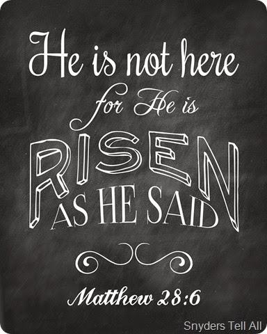 He is Risen 8x10
