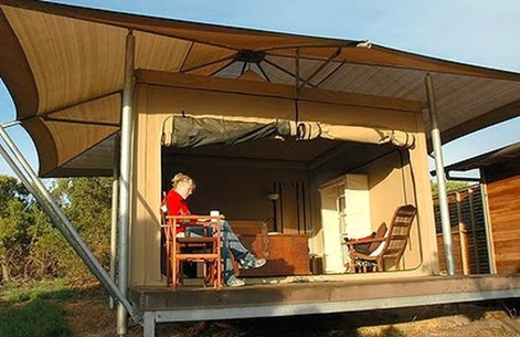 glamping pebble point australia