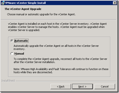 25_vCenter Server Agent Upgrade