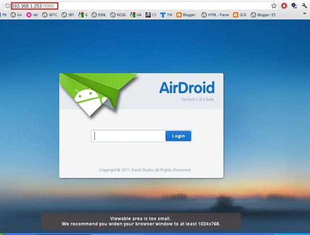 How to Control Android Phone from PC Web Browser