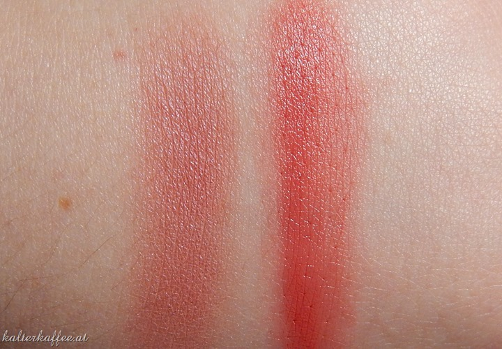 Lavera Naturkosmetik Blush Swatches