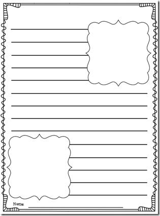 Finished custom writing paper