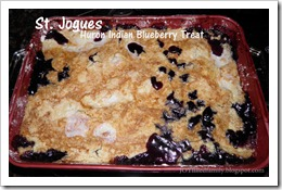 st jogues blueberry treat