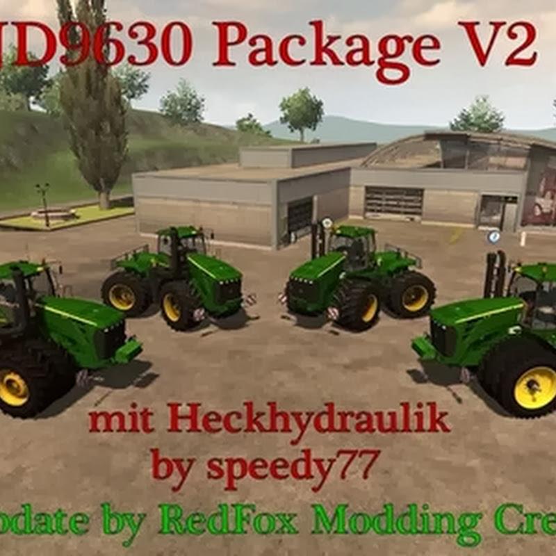 Farming simulator 2013 - John Deere 9630 v 2.0