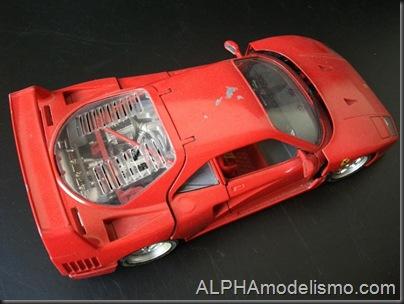 Ferrari F40 Burago 3
