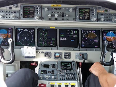 Bord avion SAAB 2000 al Carpatair