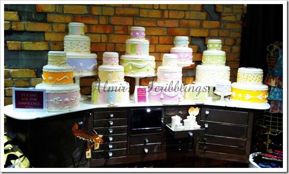 ceramic cakes - deco