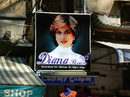 Princess Diana in India