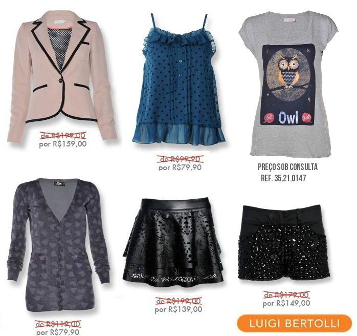 luigi bertolli liquidacao inverno 2013 moda feminina