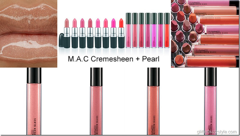 Mac cremesheen and pearl