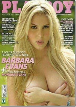 Bárbara Evans Playboy – Dezembro 2011